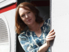 "Paula Hawkins, author of the summer's novel phenomenon ""The Girl on the Train"" to visit Spain soon."